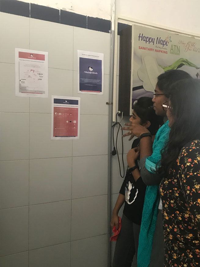Spreading Awareness of Period Pain with #WhySufferSilently Posters